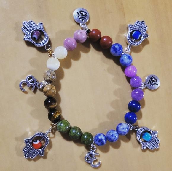 7 charka bracelets